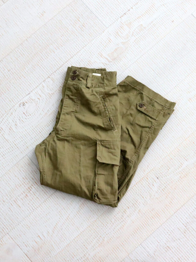 orSlow M-47 French Army Cargo Pants