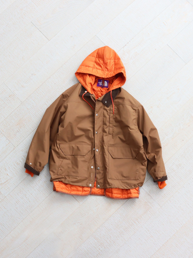 THE NORTH FACE PURPLE LABEL 65/35 HYVENT Double-built Jacket