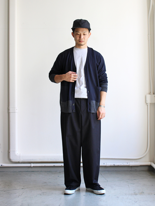 AURALEE HIGH COUNT CLOTH WIDE PANTS