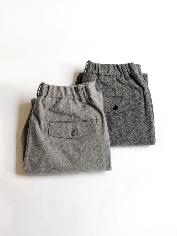 A Vontade Cotton Melton Easy Trousers