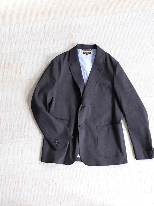 A Vontade Lounge Jacket -Linen T/R Stretch-