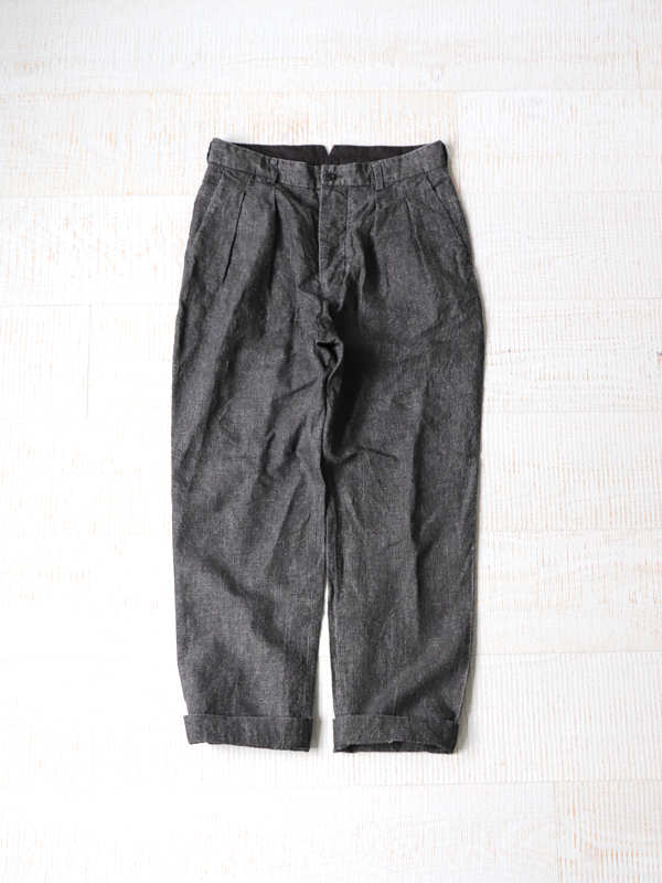 A Vontade Old Potter Trousers -40/- Linen Check