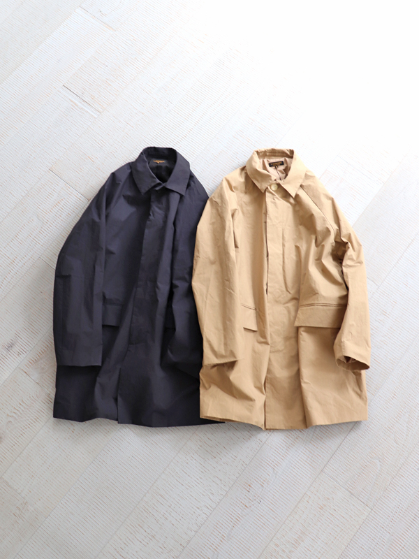 A Vontade Lax Mac Coat -Cotton/Nylon Highcount Weather