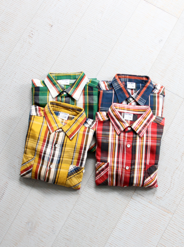 BIG MAC Regular Shirts - Flannel