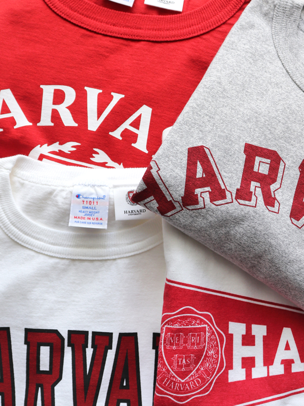 Champion Crew Neck Print Tee - HARVARD  T1011