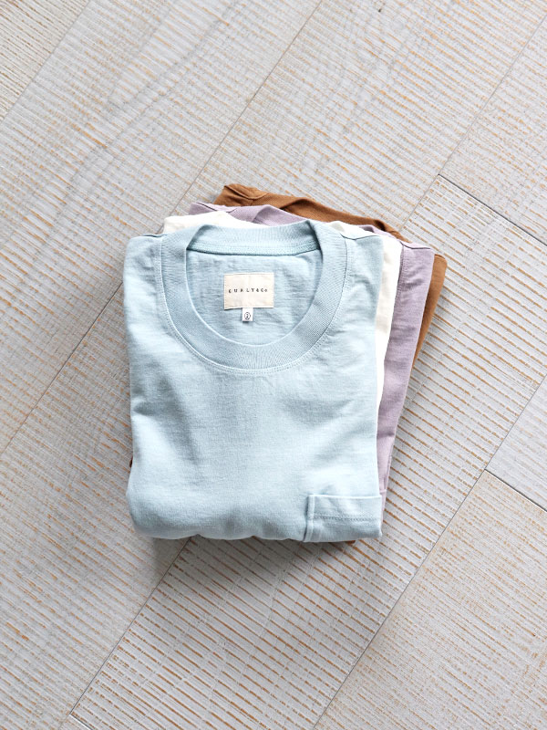 CURLY HELICAL POCKET SS TEE