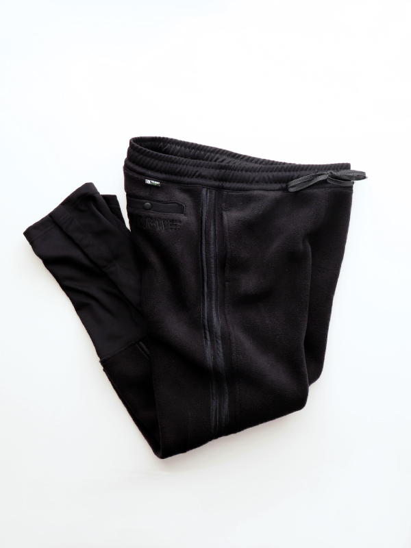 YSTRDY's TMRRW TAPERED LEG FLEECE TRACK PANTS