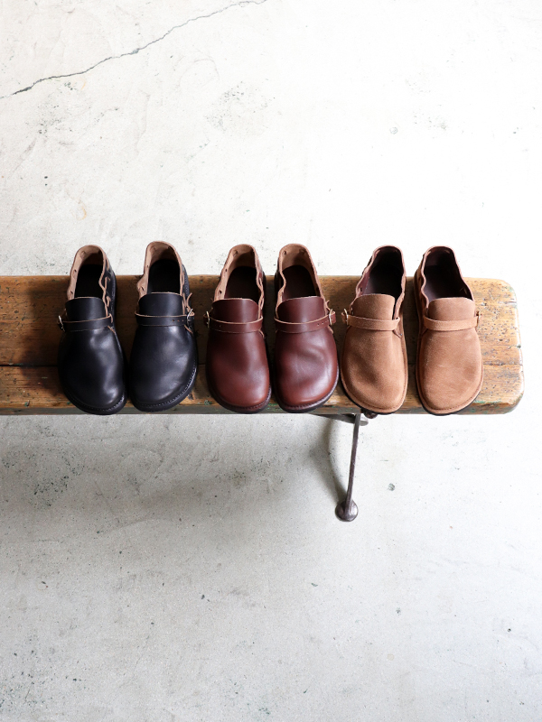 Fernand Footwear -Middle English