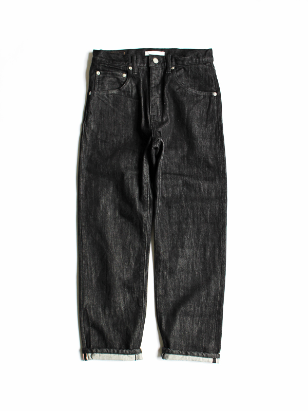 HATSKI Regular Tapered Denim -Black Denim