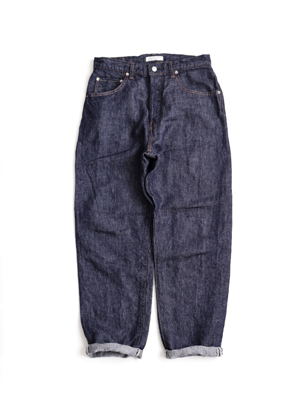 HATSKI Loose Tapered Denim -Linen