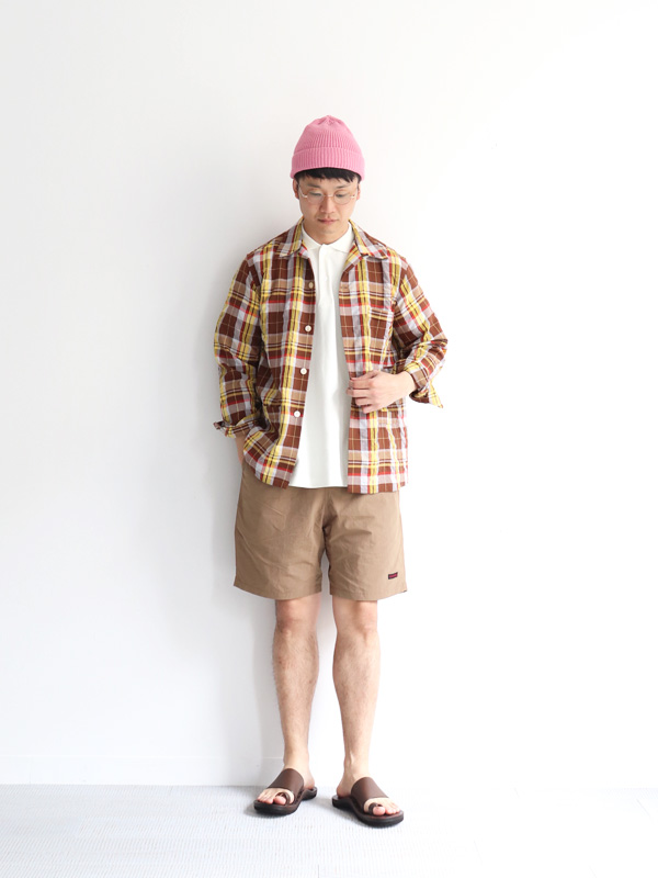 HAVERSACK ATTIRE Madras Check Shirt Jacket