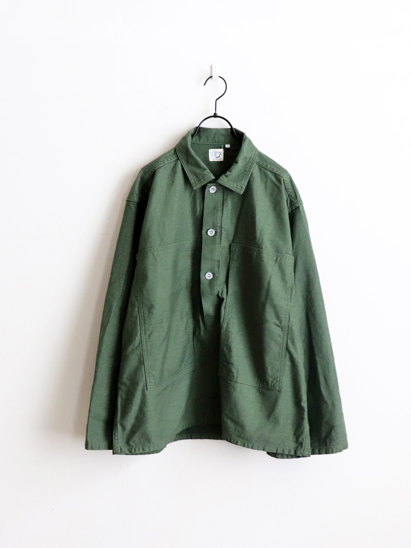 orSlow U.S. Army Pullover Jacket -GREEN
