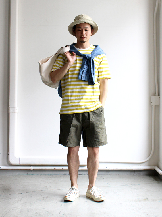 maillot Border Short Sleeve T-shirt (ボーダー半袖) MAC-003