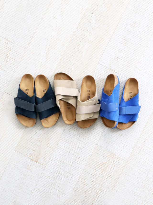 BIRKENSTOCK Kyoto Nubuck/Suede Leather