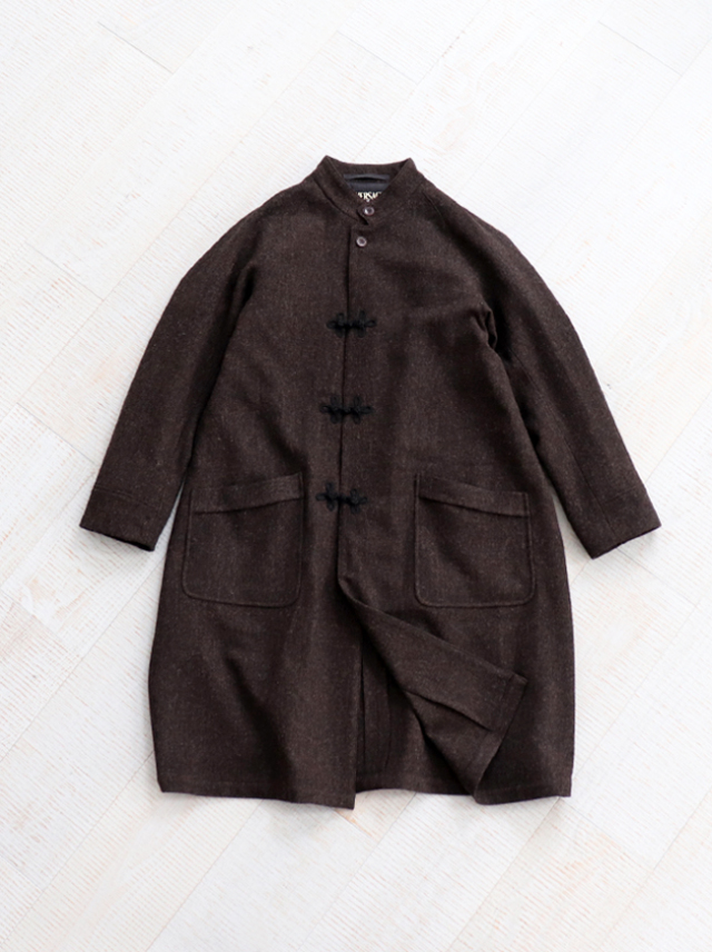 HAVERSACK Diagonal Tweed Sleeping Coat