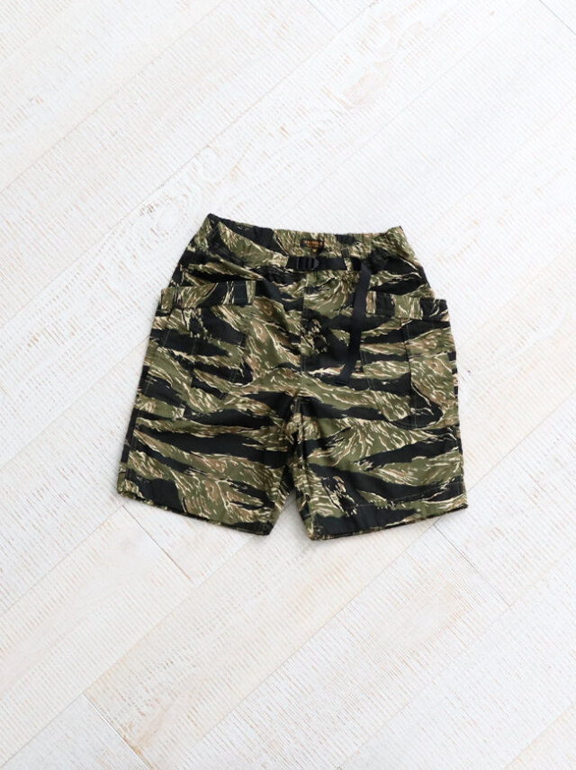 A Vontade Fatigue Shorts -Tiger Camo