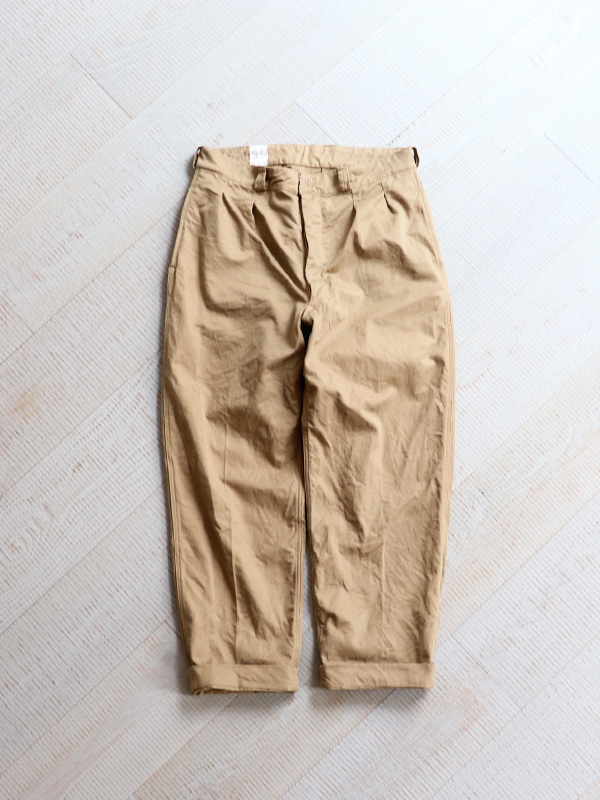 DEADSTOCK 1960's French Army Chino Trousers