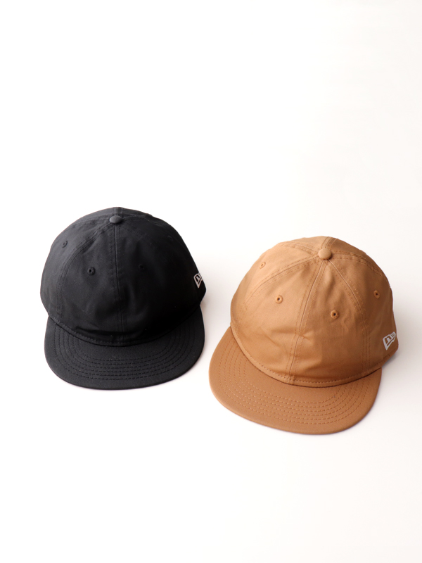 NEW ERA 9THIRTY Flat Visor -WAXDE COTTON