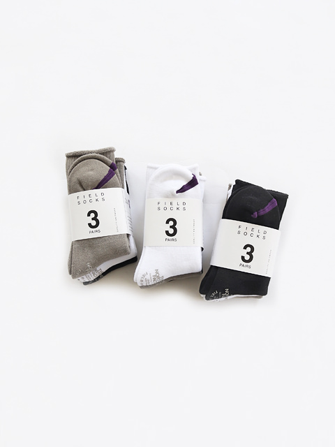 THE NORTH FACE PURPLE LABEL Pack Field Socks 3P