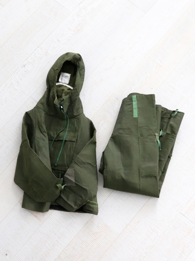 DEAD STOCK 1986's Royal Army Chemical Protective MK3 Smock & Trousers