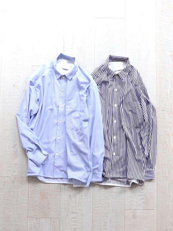 CURLY CLOUDY LS STRIPE SHIRTS