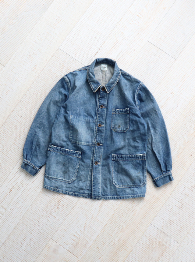 Re:ORDINARY DENIM WORK JACKET -5YEAR