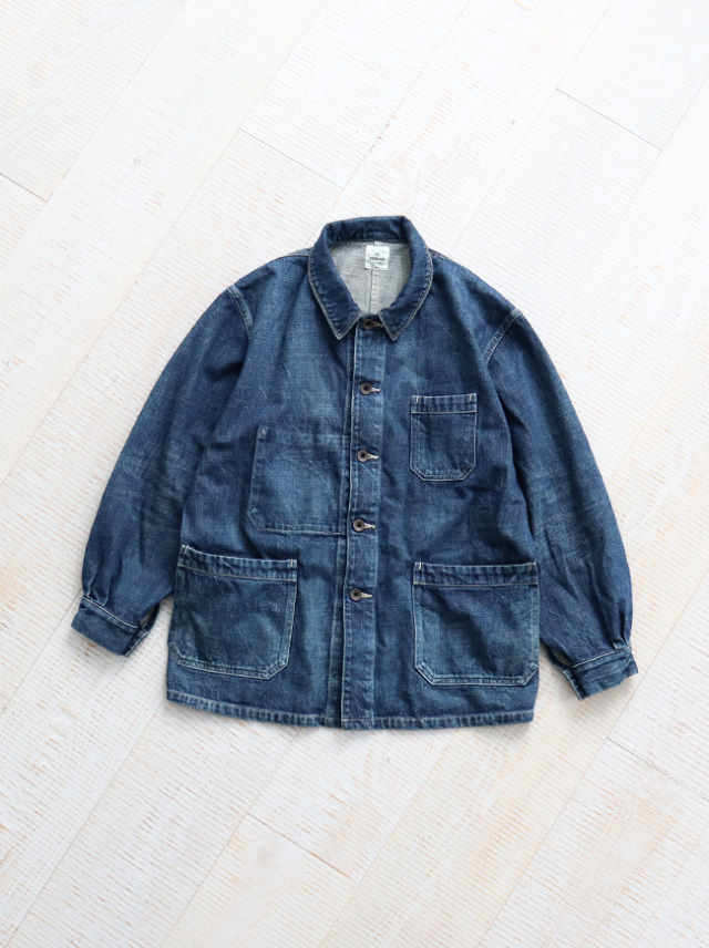 Re:ORDINARY DENIM WORK JACKET -1YEAR