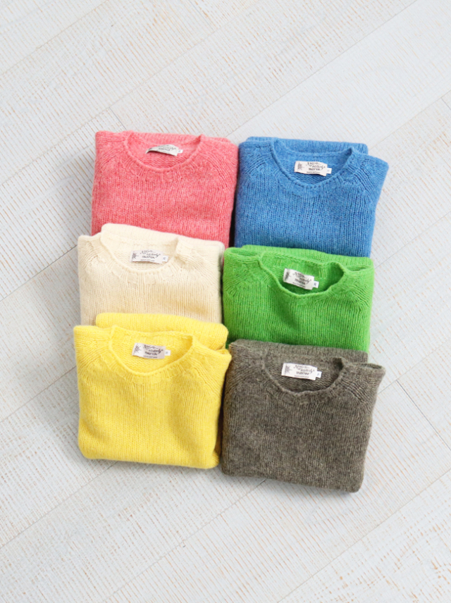 Nor'Easterly Crew Neck Sweater -ナイモノねだり