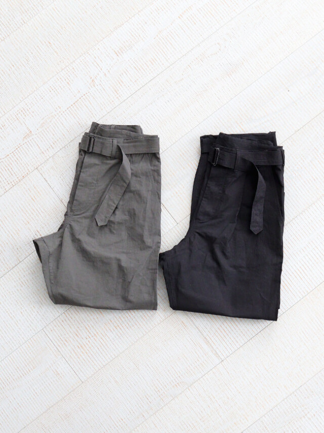 A Vontade Mil. Cookman Trousers  W/Belt