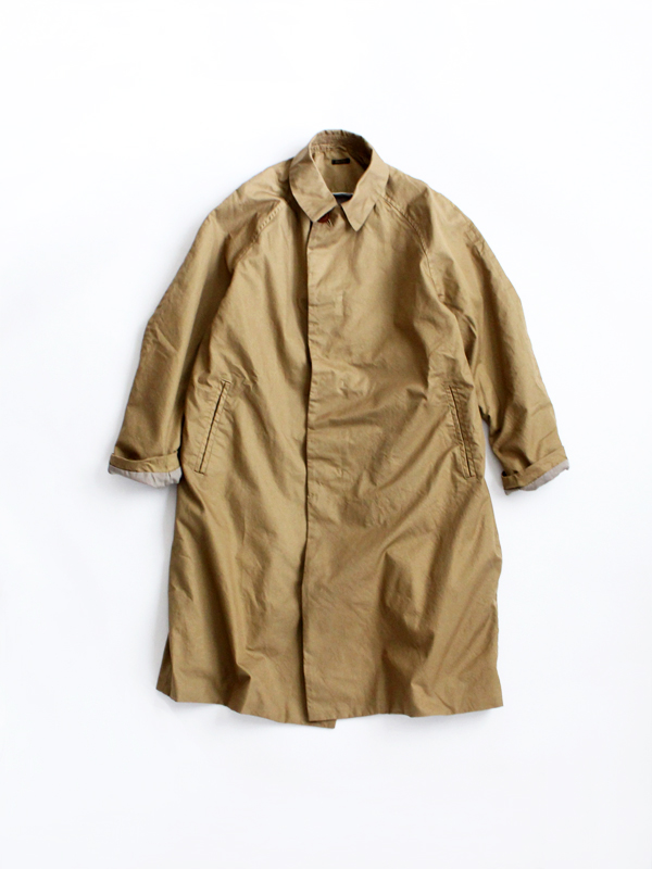 maillot mature cotton over coat (コットンオーバーコート) MAS-17134
