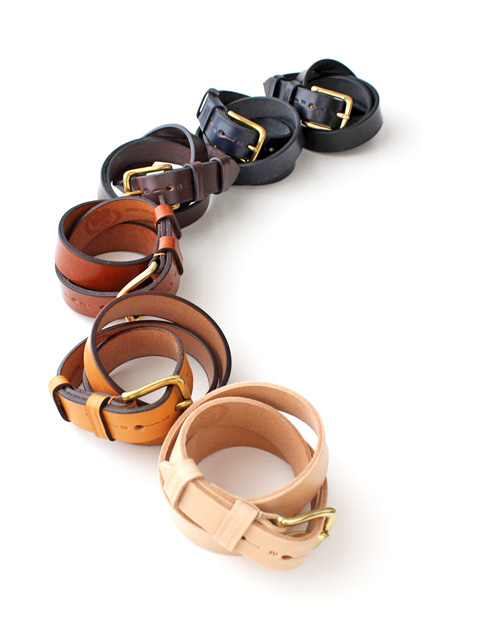 Jabez Cliff Stirrup Leather Belt ベルト