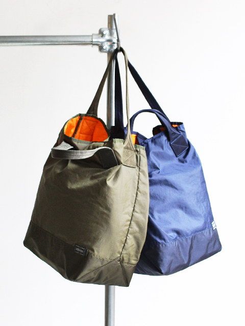 Kaptain Sunshine Quilting Military Nylon Tote Small Made by PORTER