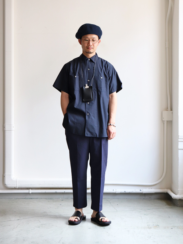 Kaptain Sunshine  Work Shirt -Finx Cotton-Silk Light Weather