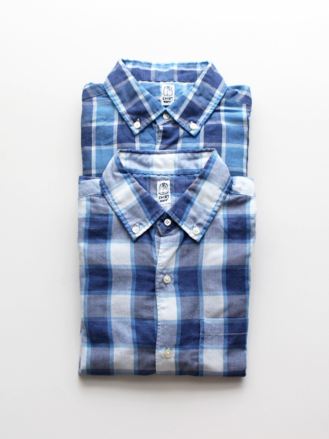 KATO' BASIC Check B.D.Shirt