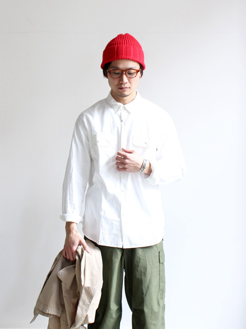 Ordinary fits Workers Shirts -OX