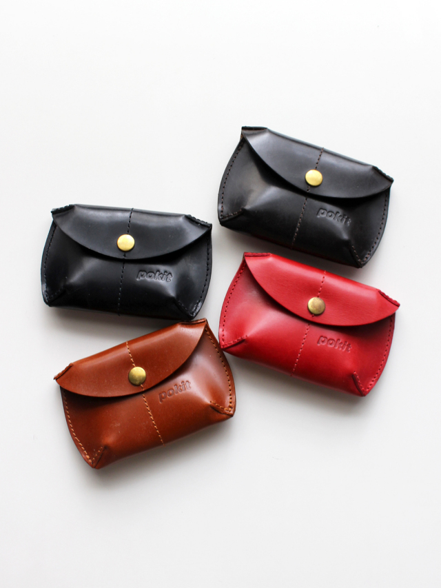 Pokit Bridle Leather Coin Purse