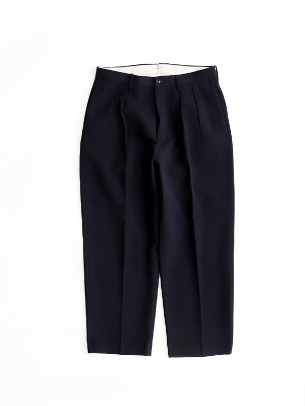 Phlannel  Cavalry Twill Cropped Wide Trousers