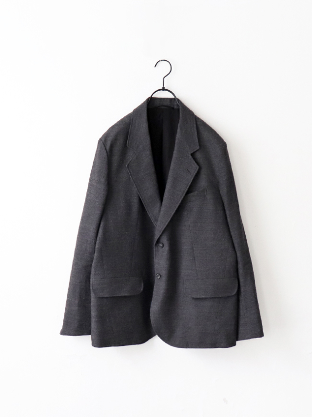 Phlannel Arles Wool Linen 2B Sack Jacket
