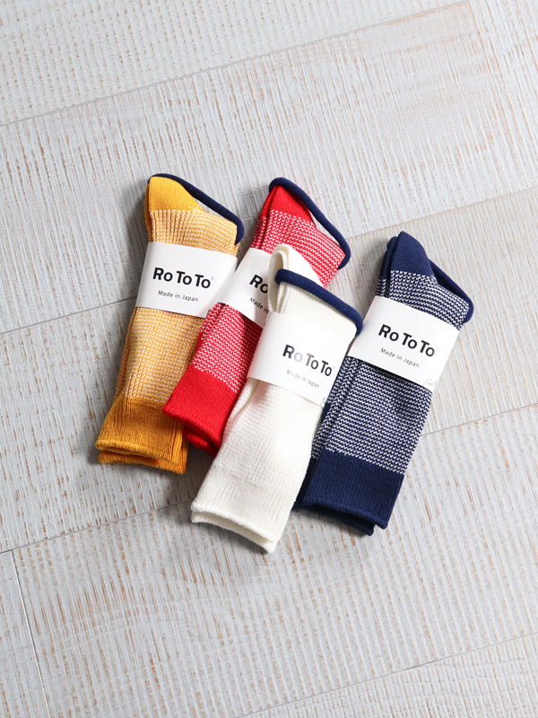 RoToTo  Washi Rib Socks