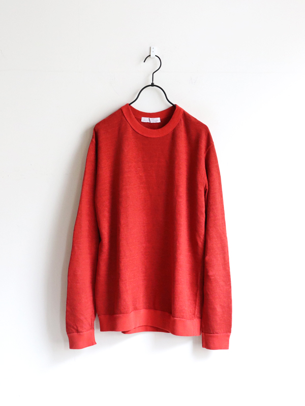 SBTRACT  LINEN L/S CREWNECK SWEAT