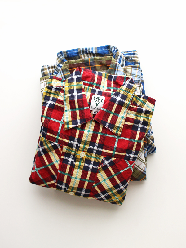 SOUTH2 WEST8 6 POCKETS CLASSIC SHIRT -Printed Flannel