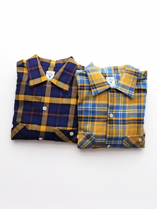 SOUTH2 WEST8 One-Up Shirt - Cotton Twill Plaid