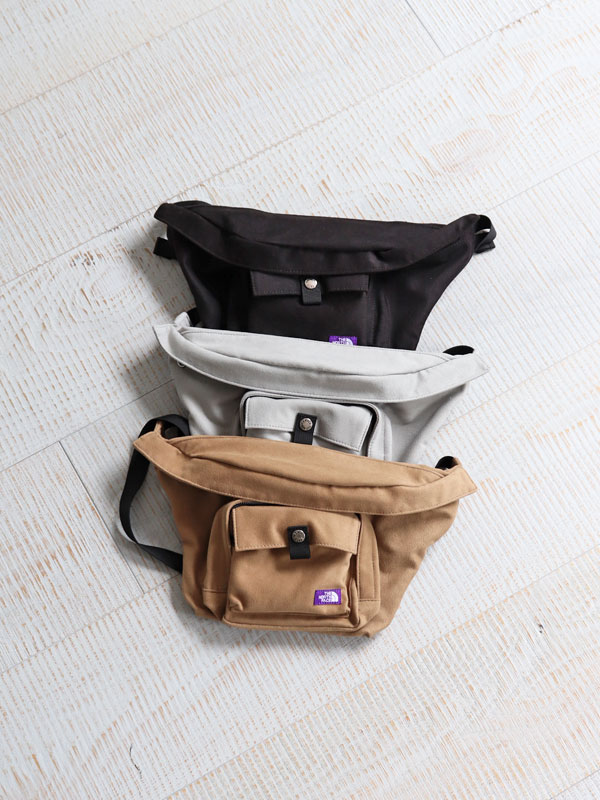 THE NORTH FACE PURPLE LABEL Suede Waist Bag