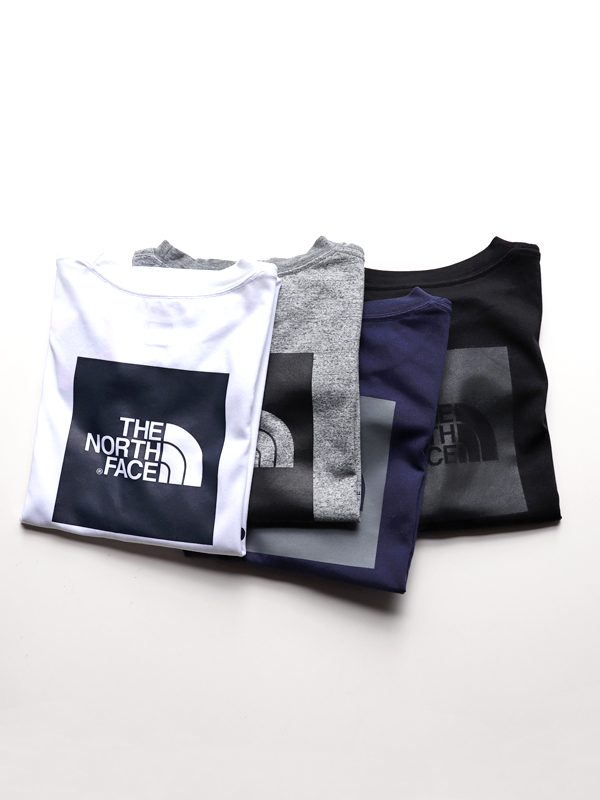 THE NORTH FACE S/S Square Logo Tee