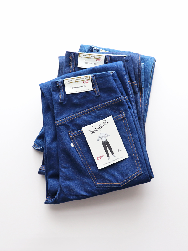 WESTOVERALLS 5POCKET DENIM TROUSERS. 801S