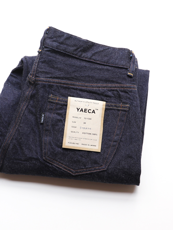 YAECA 13-13W WIDE STRAIGHT DENIM