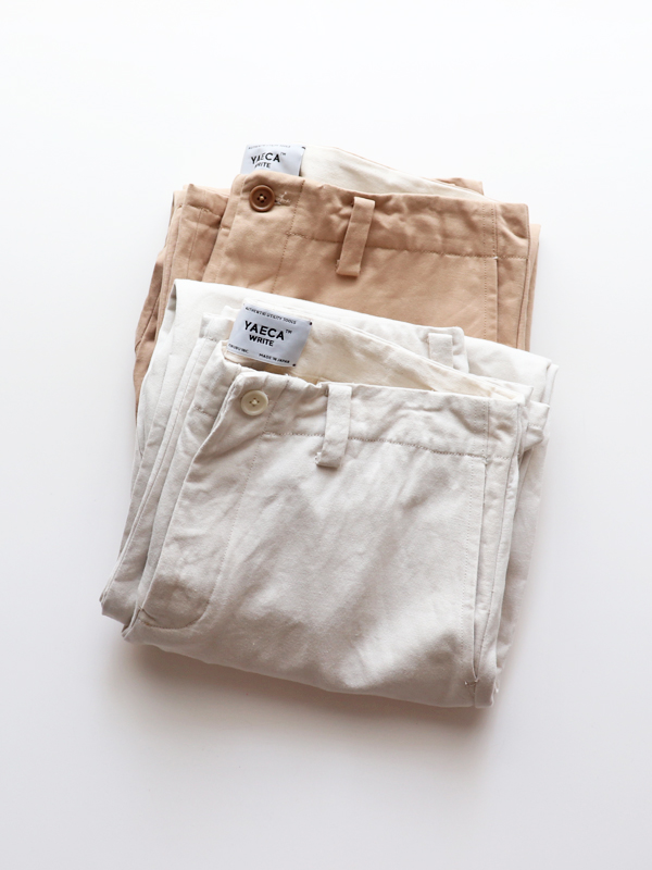 YAECA WRITE WORK PANTS