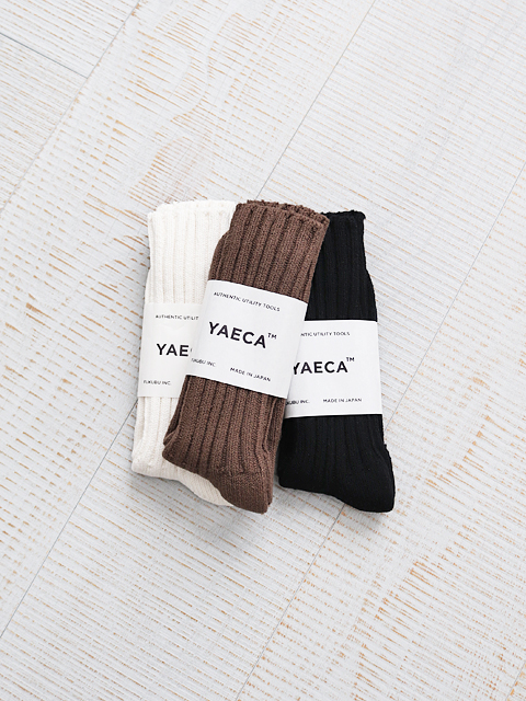 YAECA COTTON SILK LONG SOCKS