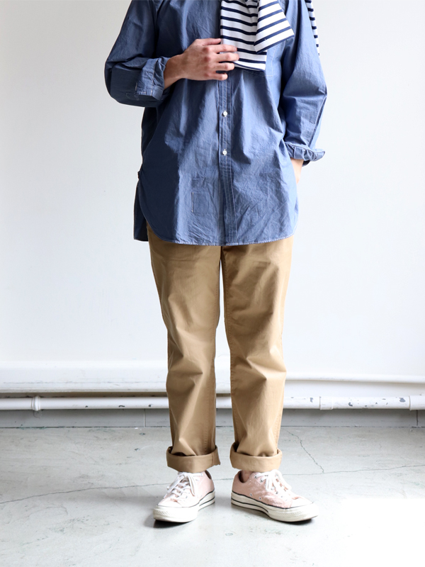 A Vontade Classic Chino Trousers -Regular Fit- Classic Selvdge Twill