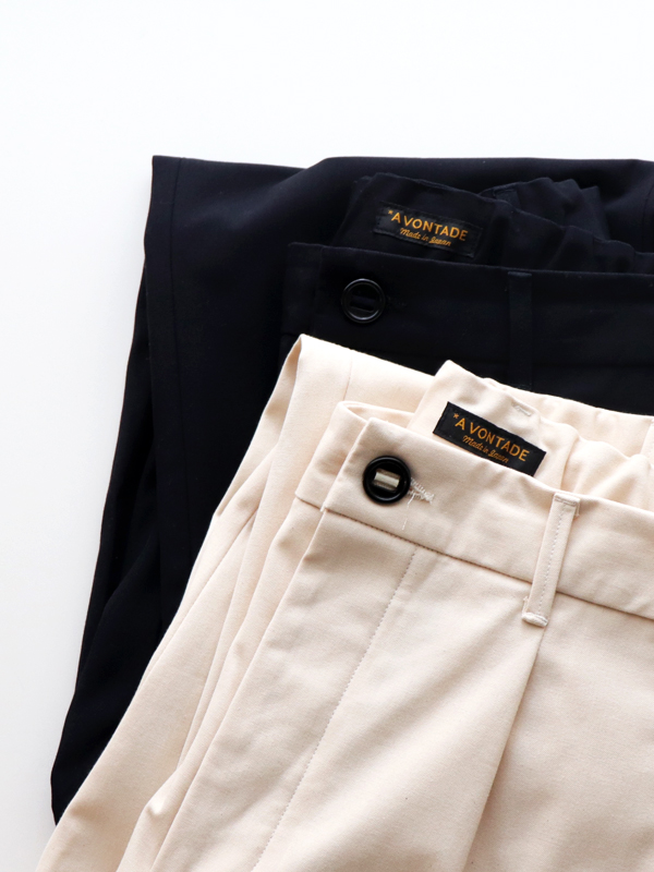 A Vontade 1 Tuck Atelier Easy Pants